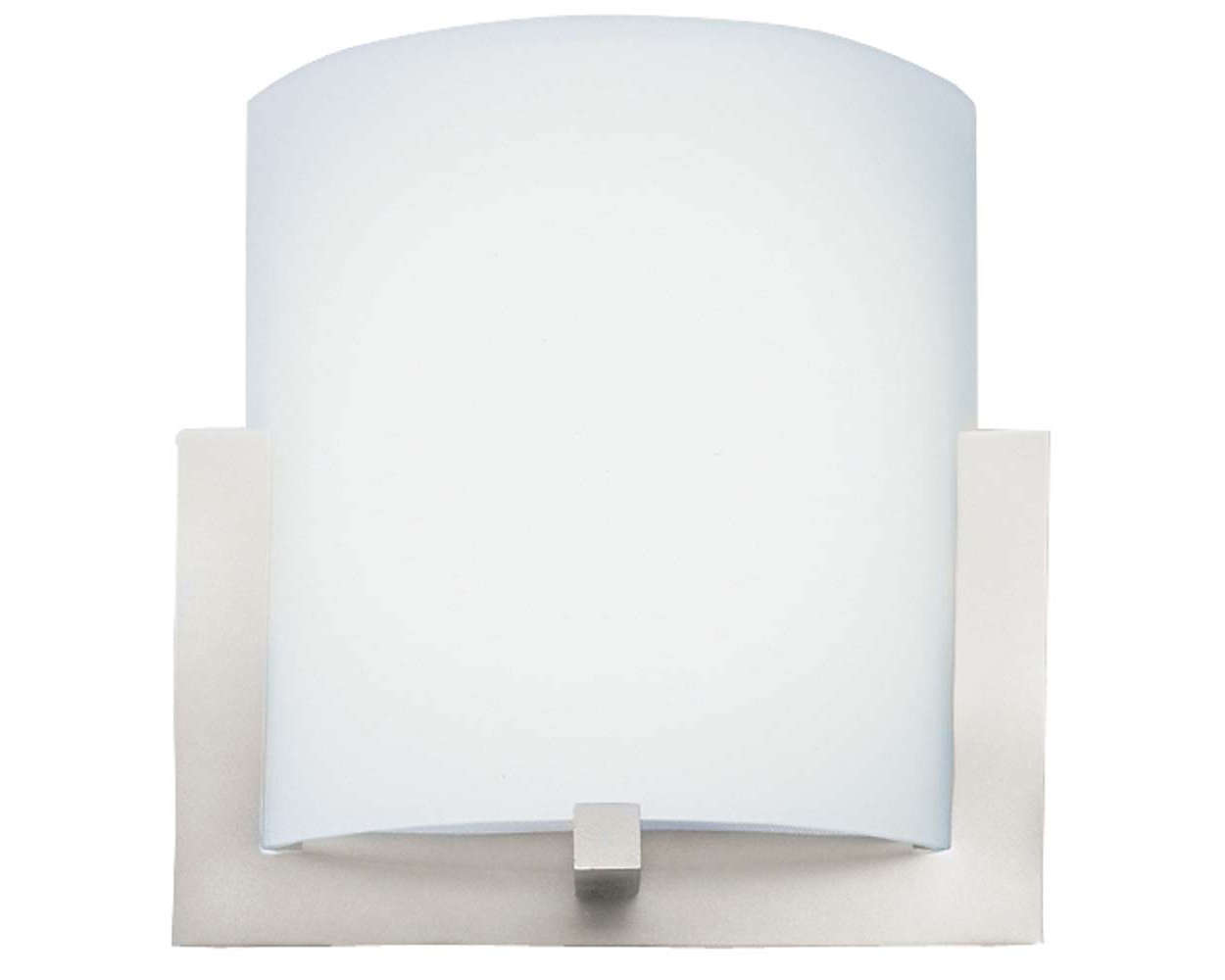 Bow 2-light Wall in Satin Nickel finish