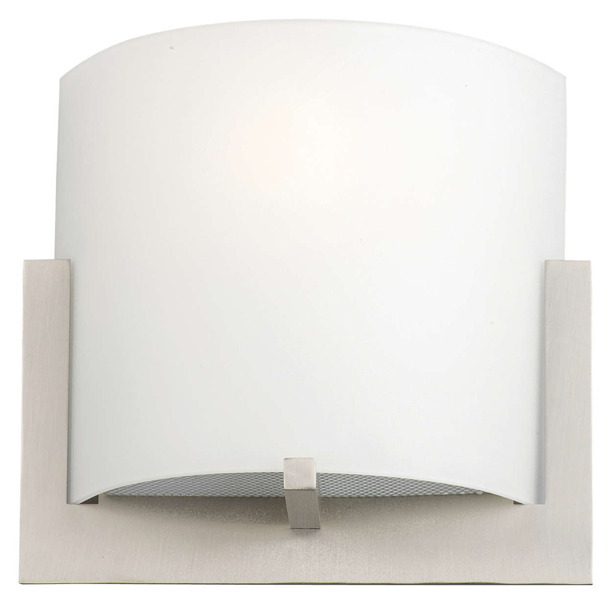Bow 1-light Wall in Satin Nickel finish