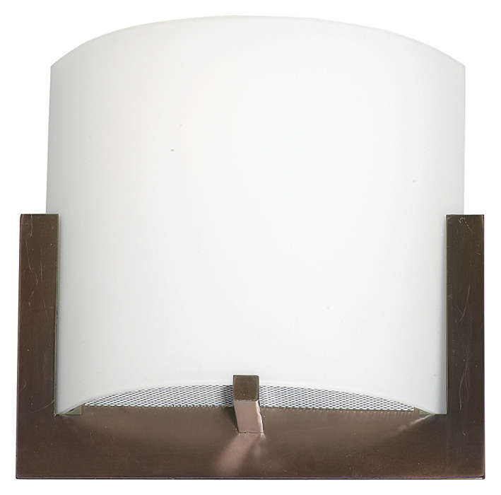 Bow 1-light Wall in Merlot Bronze finish