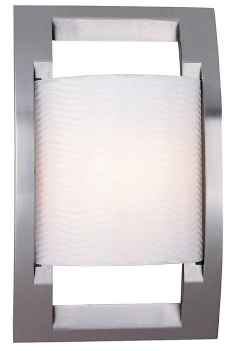 Big City 1-light Bath in Satin Nickel finish