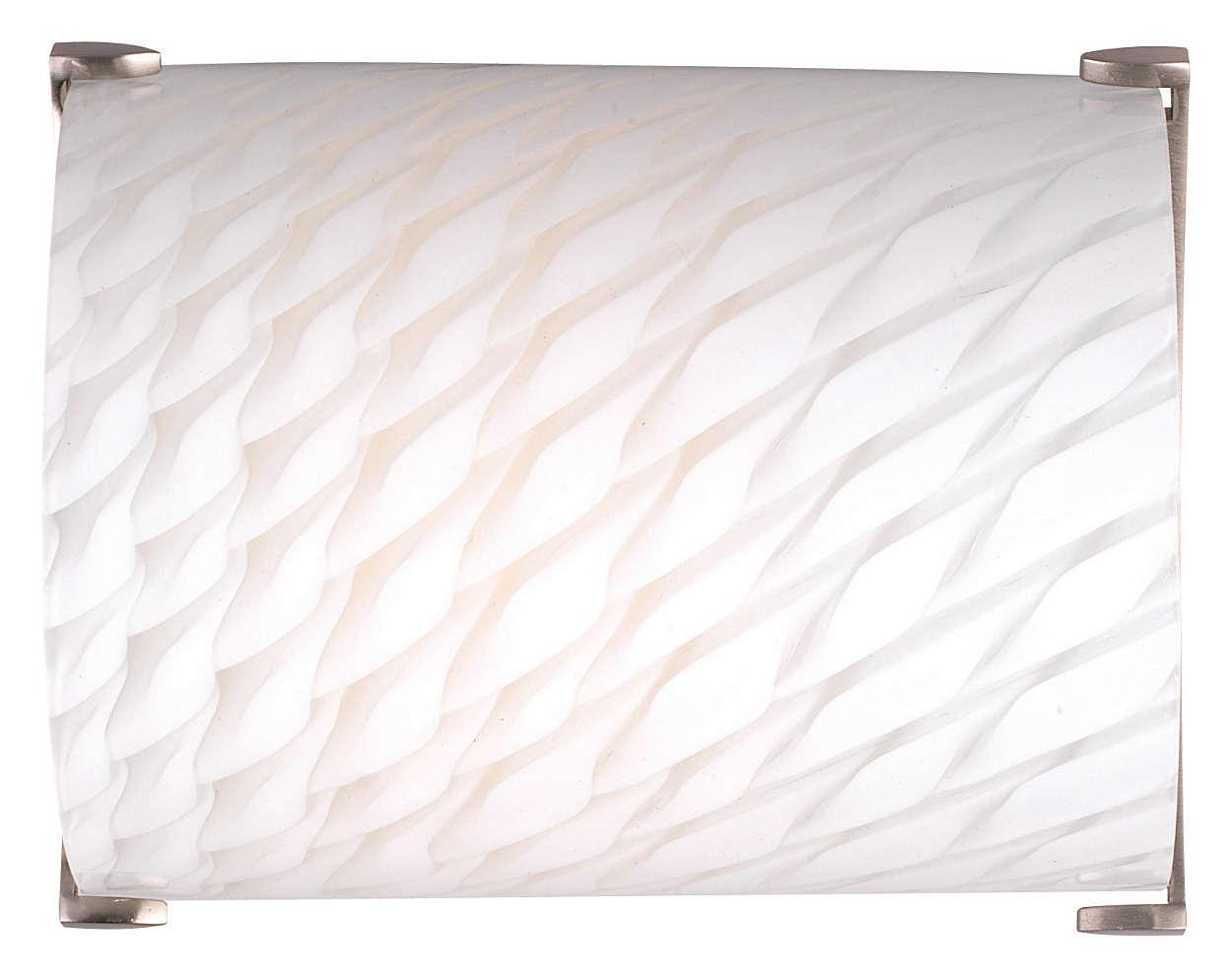 Edge 1-light Wall in Satin Nickel finish