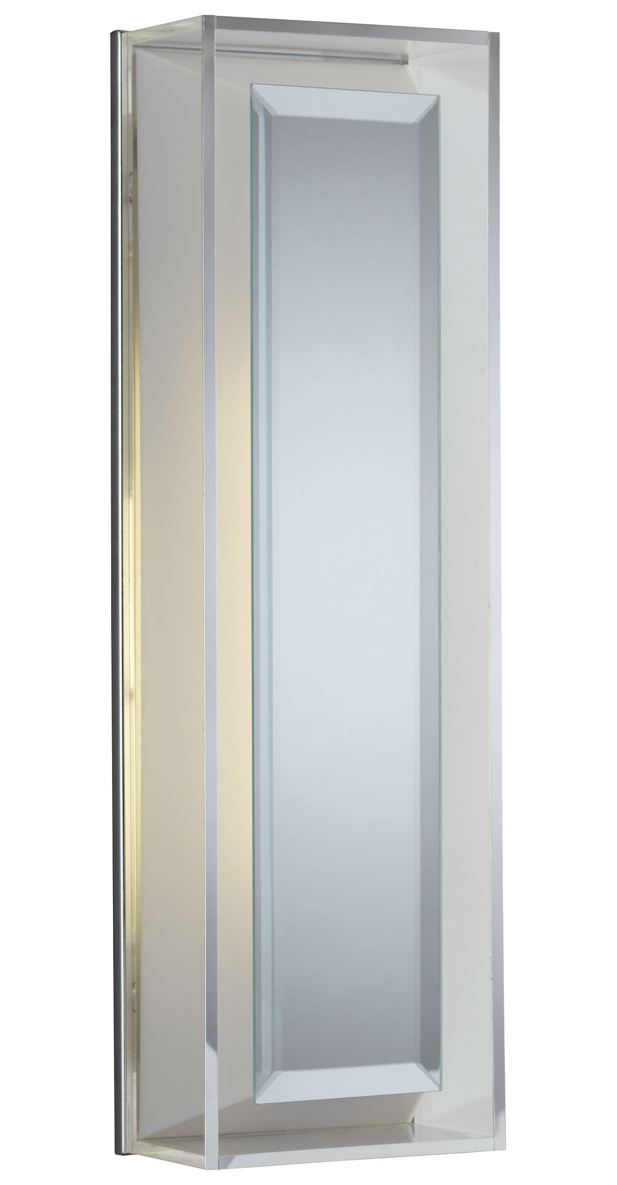 Glam 1-light Bath in Chrome finish