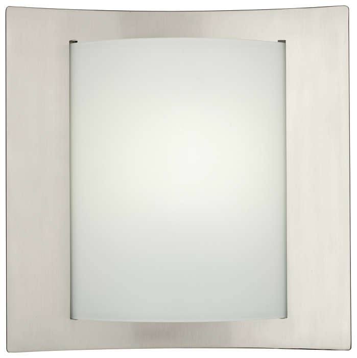Bow Wrap 1-light Wall in Satin Nickel finish