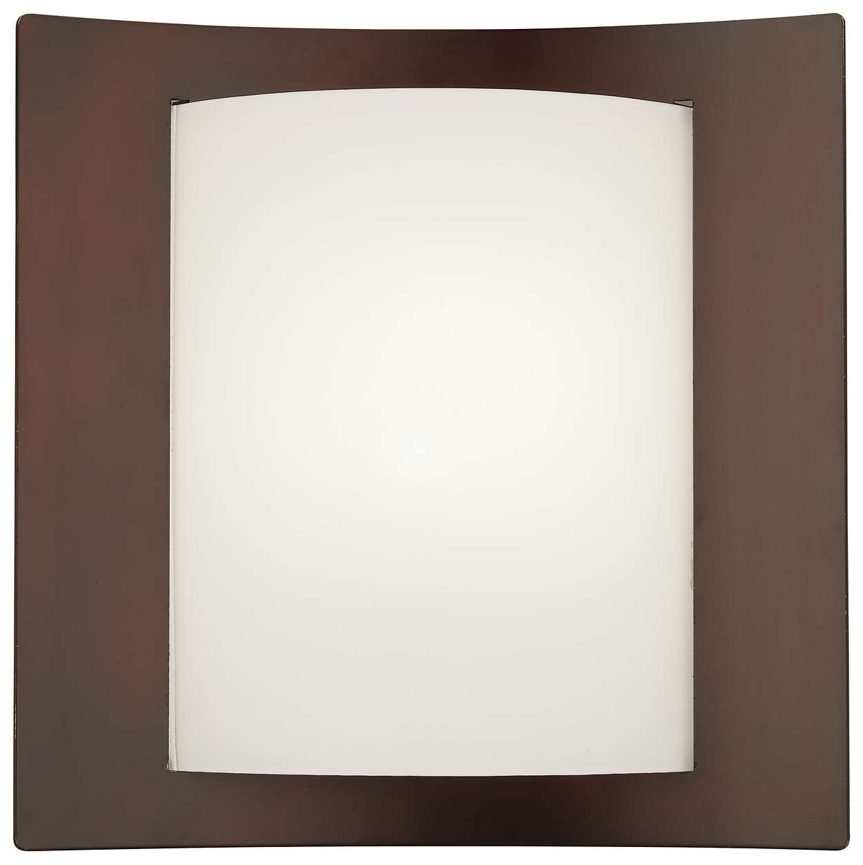 Bow Wrap 1-light Wall in Merlot Bronze finish