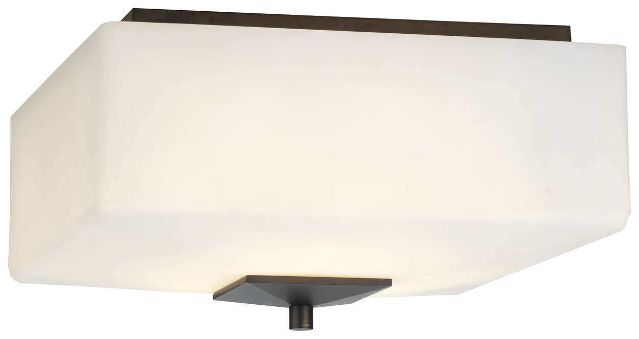 Radius 3-light Ceiling in Merlot Bronze finish