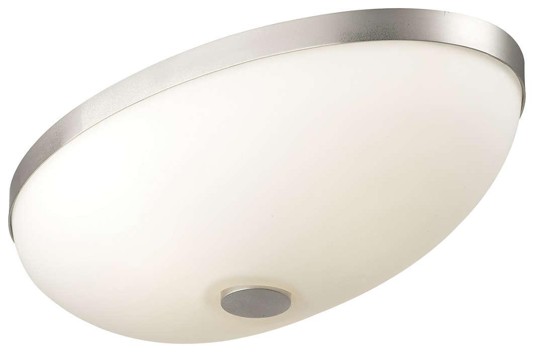 Ovalle 2-light Ceiling in Satin Nickel finish