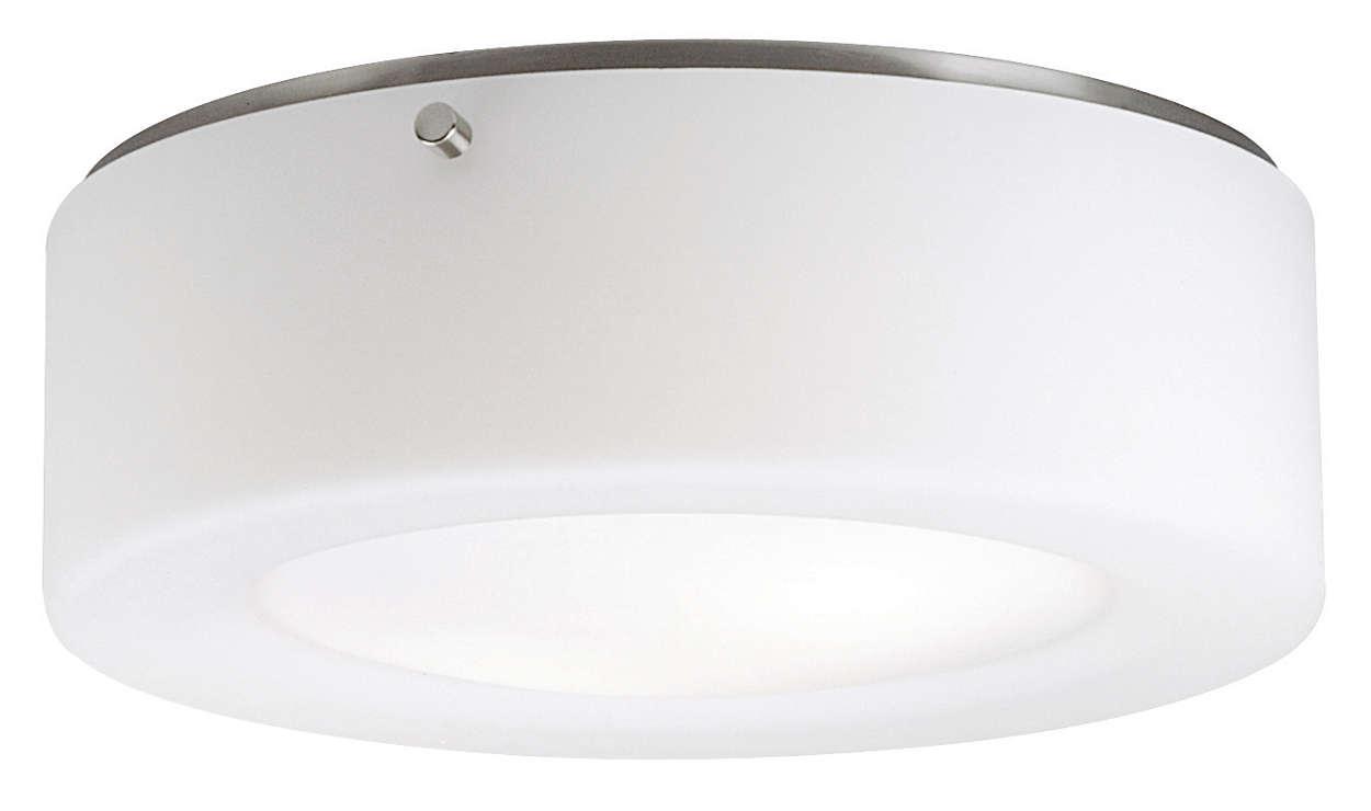 Lisa 2-light Ceiling in Satin Nickel finish