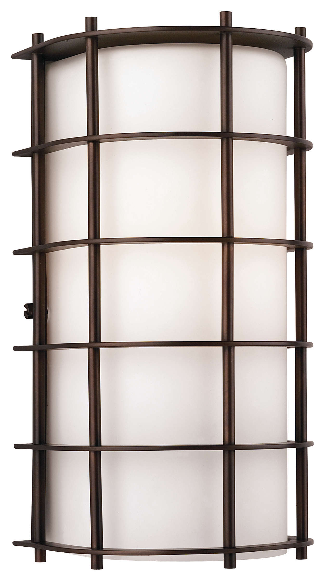 Hollywood Hills 1-light Outdoor Wall, Deep Bronze