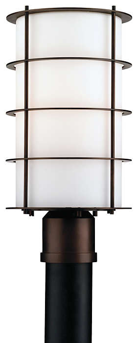 Hollywood Hills 1-light Outdoor Post, Deep Bronze