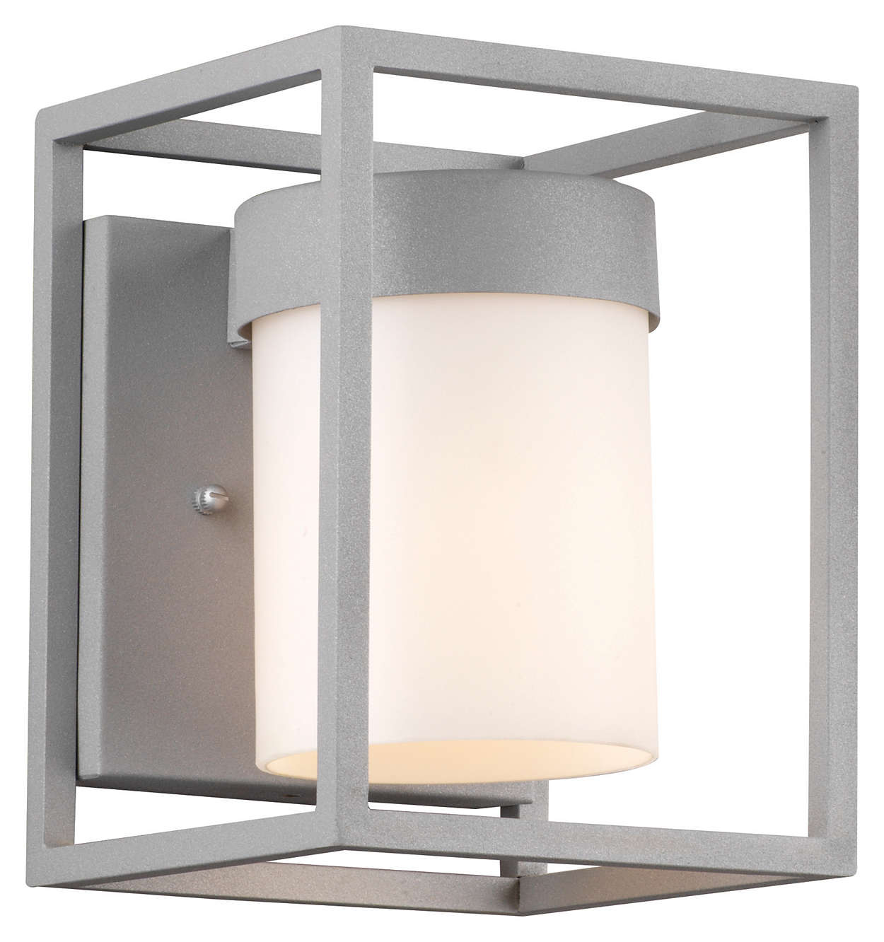 Cube 1-light Outdoor Wall in Graphite finish