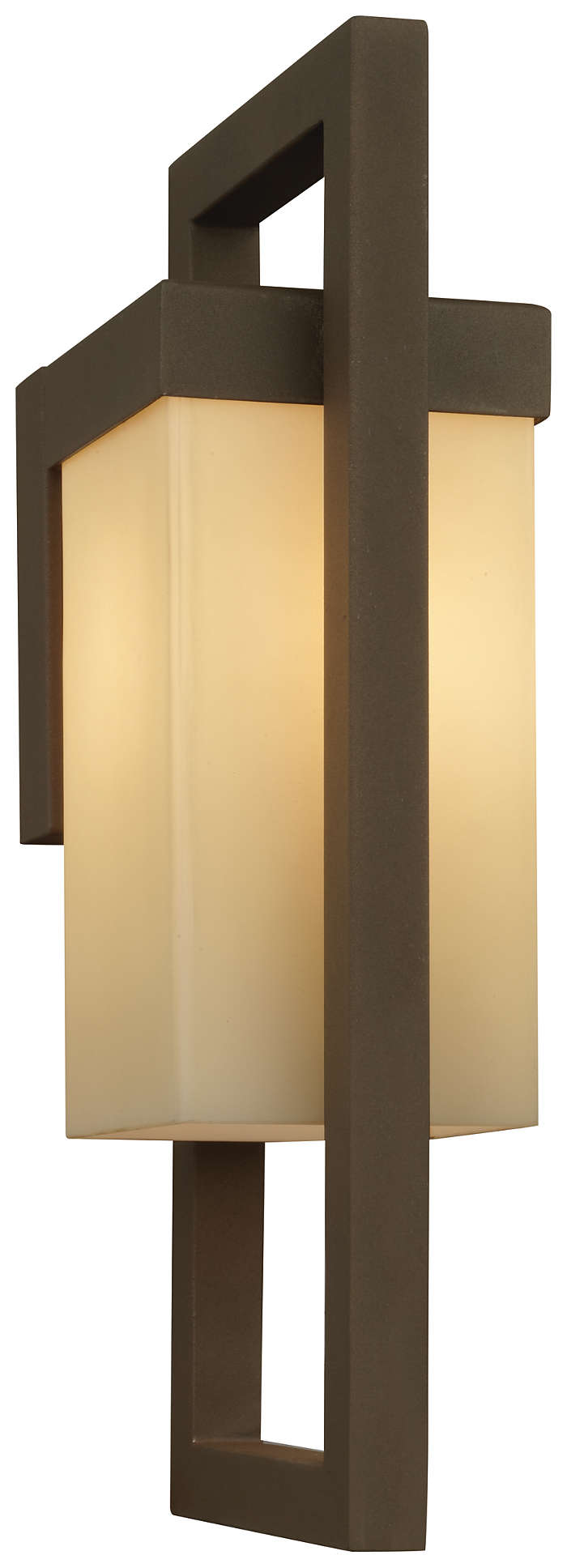 City 1-light Outdoor Wall in Bronze finish