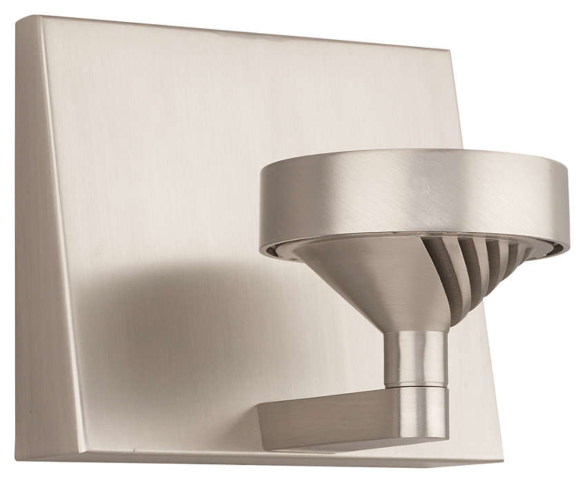 Yo-Yo 1-light LED Wall in Satin Nickel finish