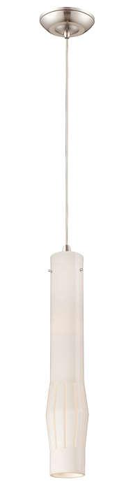 Expanse LED pendant in Satin Nickel finish