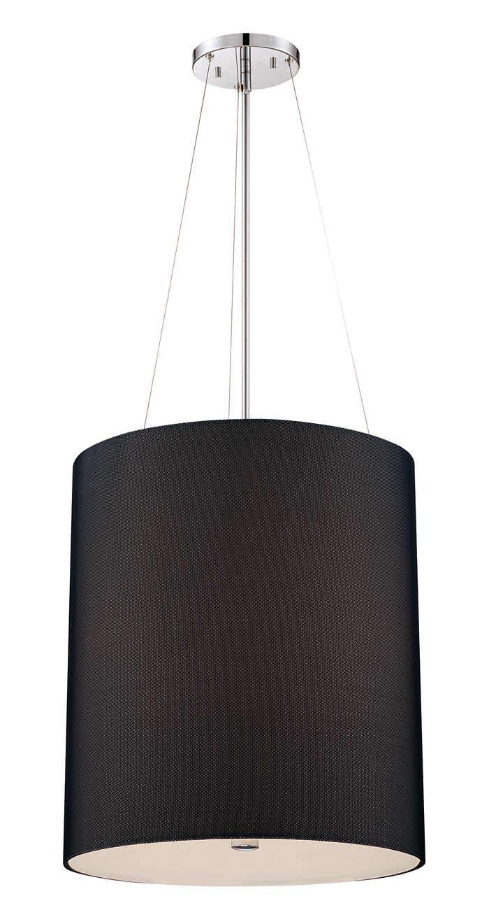 Fishnet 2-light pendant in Chrome finish