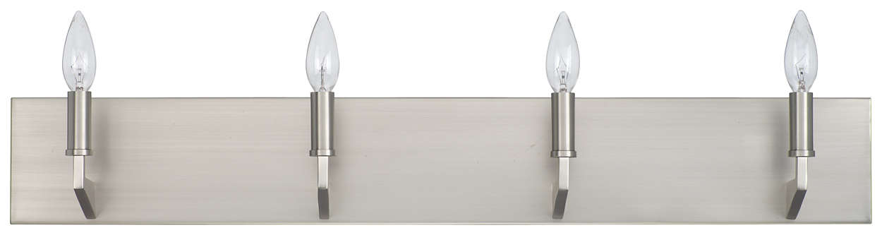 Fisher Island 4-light Wall in Satin Nickel finish