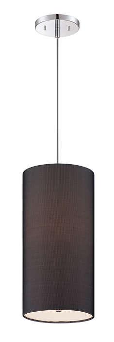 Fishnet 1-light pendant in Chrome finish