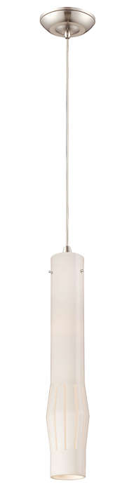 Expanse 1-light pendant in Satin Nickel finish