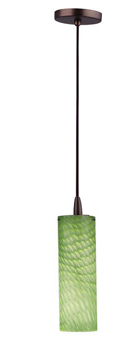 Marta 1-light pendant in Merlot Bronze finish