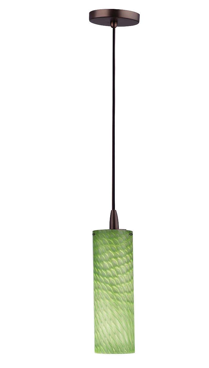 Marta 1-light pendant in Merlot Bronze finish