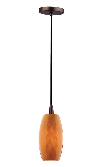 Wishes 1-light pendant in Merlot Bronze finish