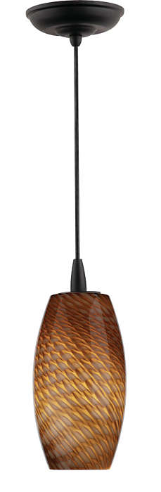 Marta Wishes 1-light pendant in Black finish