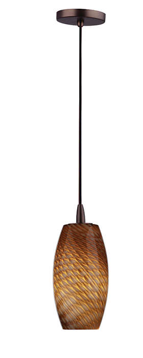 Marta Wishes 1-light pendant, Merlot Bronze finish