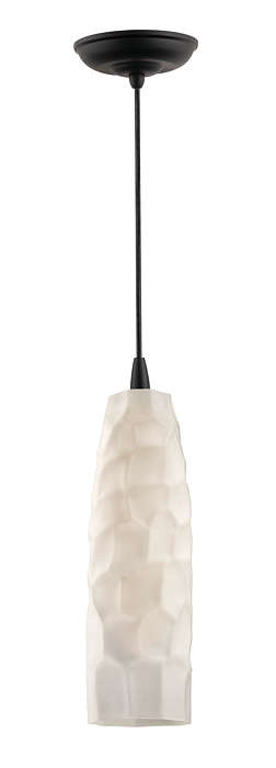 Graphite 1-light pendant in Black finish