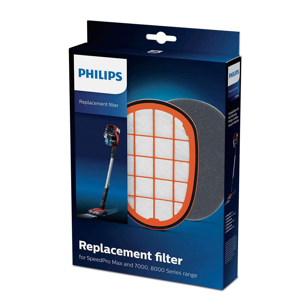 Filtr pro výrobek SpeedPro Max, řada7000 a8000