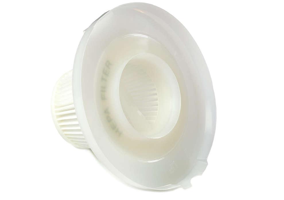Limpia el aire que expulsa el aspirador