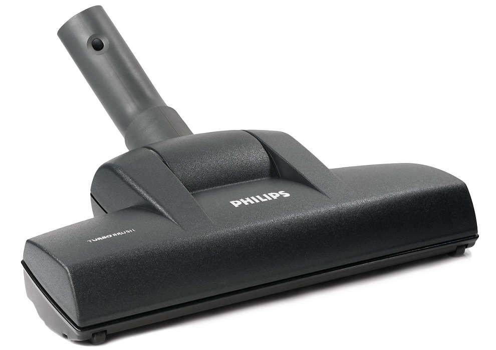 Cepillo potente para el aspirador