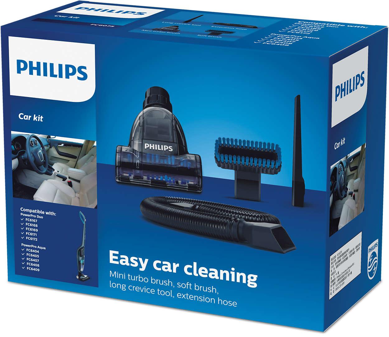 Fácil limpieza del coche