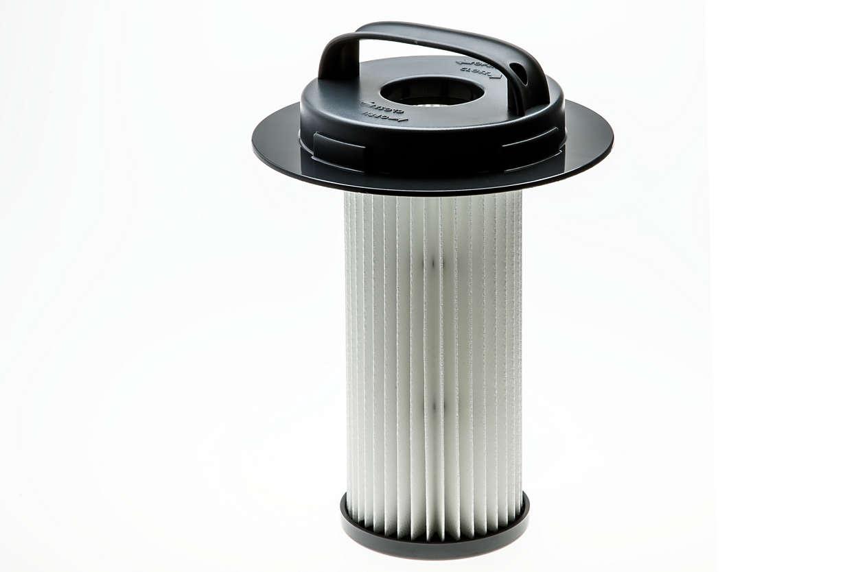 Para filtrar el aire del aspirador