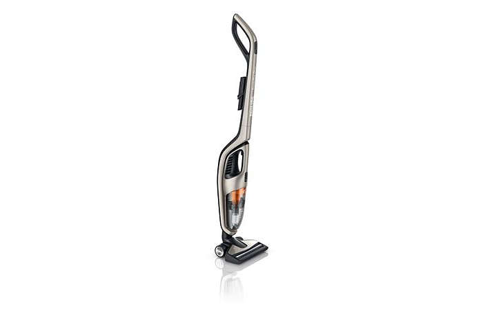 Gründliches Reinigungsergebnis auf harten Böden und auf Teppichen