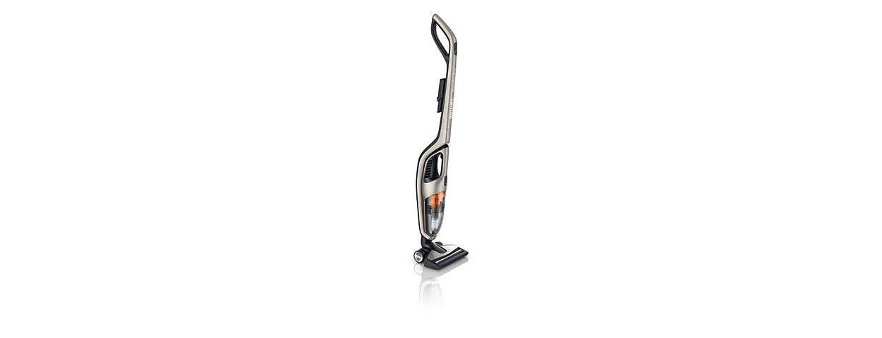 Un nettoyage optimal sur les sols durs, la moquette et les tapis