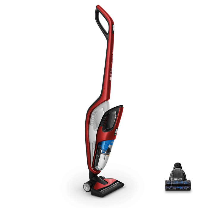 powerpro duo aspirateur balai 2 en 1 avec powercyclone fc6172 01 philips. Black Bedroom Furniture Sets. Home Design Ideas