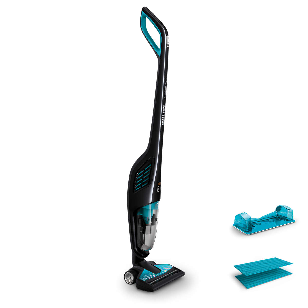 Vacuums and mops in one stroke