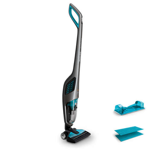 PowerPro Aqua 2-in-1 Wet and Dry Cordless Vacuum Cleaner and Mop