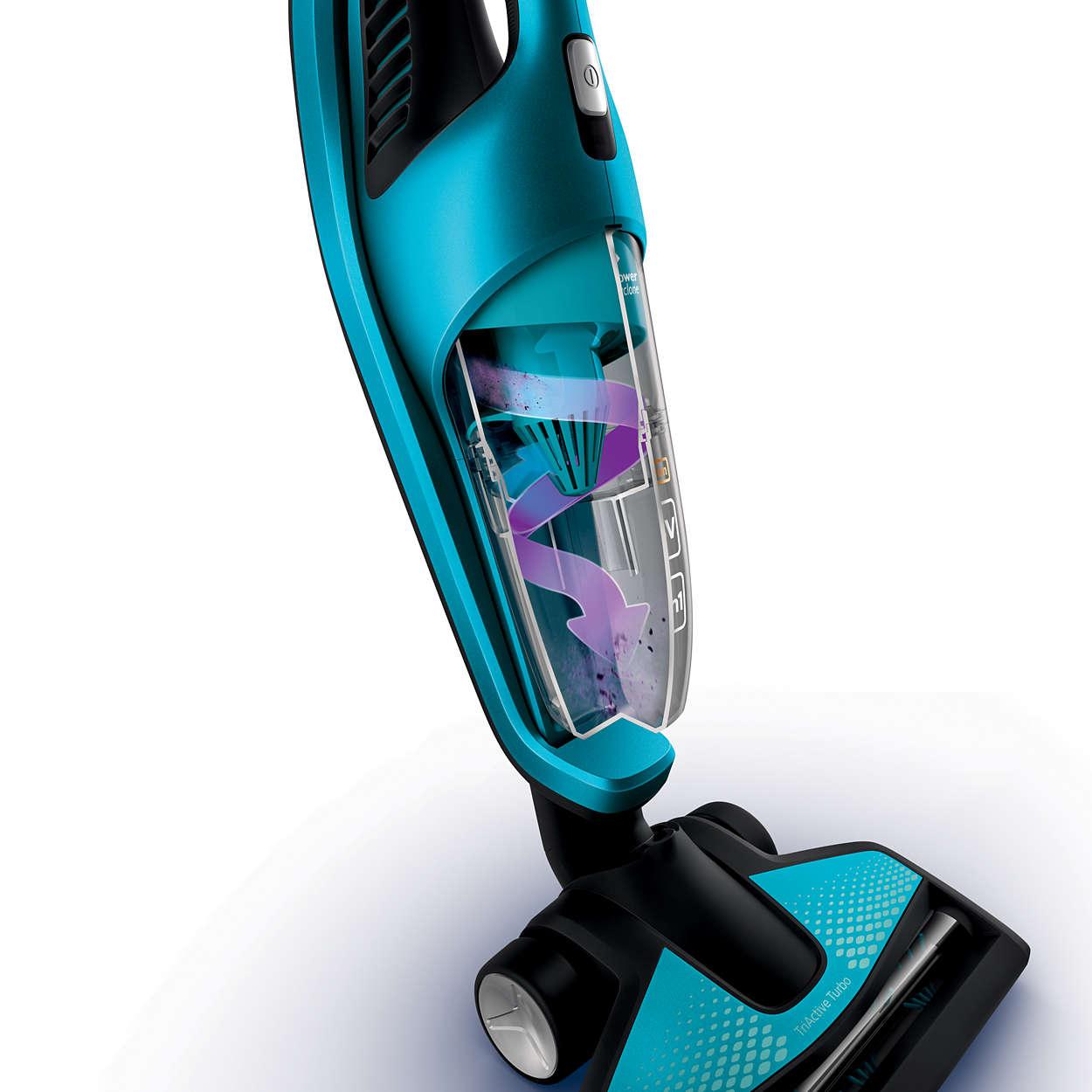 Powerpro Aqua Bezprzewodowy Odkurzacz Myjący 3w1 Z Odkurz Ręcznym