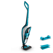 PowerPro Aqua Bezdrátový tyčový vysavač pro mokré i suché čištění