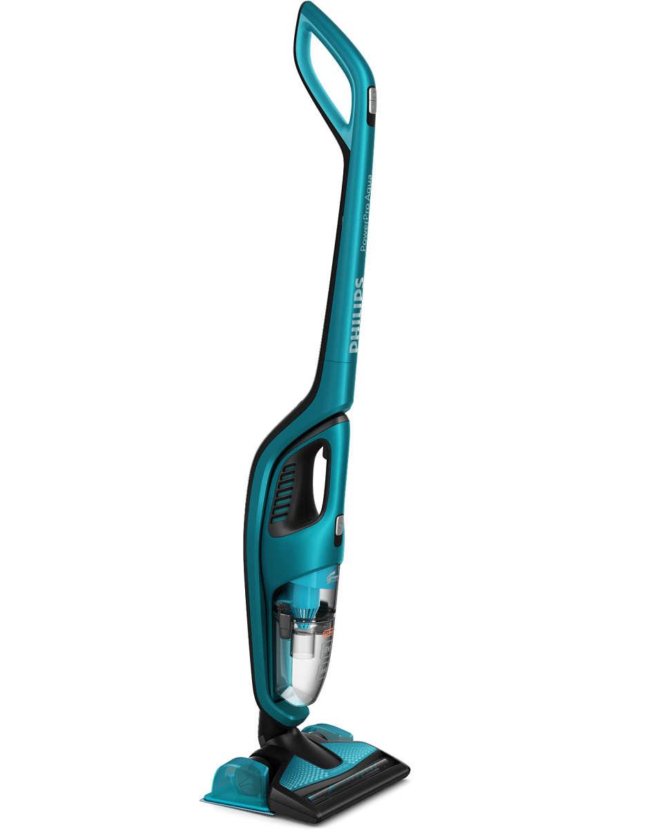 PowerPro Aqua Dammsugare och moppsystem FC640401 | Philips