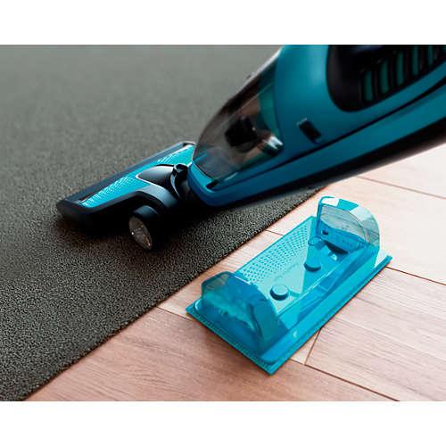 PowerPro Aqua Systeem voor stofzuigen en dweilen