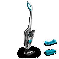 FC6407/81 PowerPro Aqua 吸尘、湿拖和手持式3合1无线吸尘器
