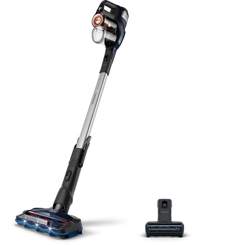 Una pulizia senza fili ultra rapida*