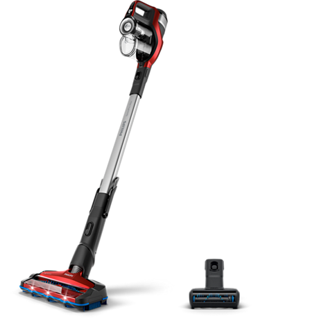 Bezdrátový vysavač s 360° LED hubicí