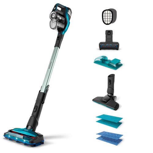 Cordless stick cleaners