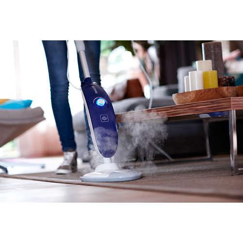 Limpiador de suelos con vapor