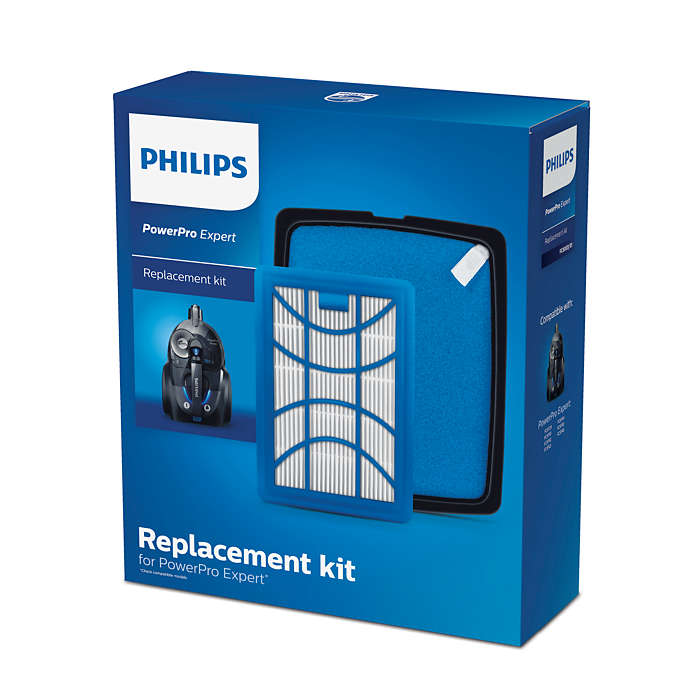 Kit de rechange avec filtre anti-allergènes PowerPro Expert*