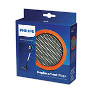 Philips Rechargeable Stick Accessory FC8009/01 1x Washable foam filter