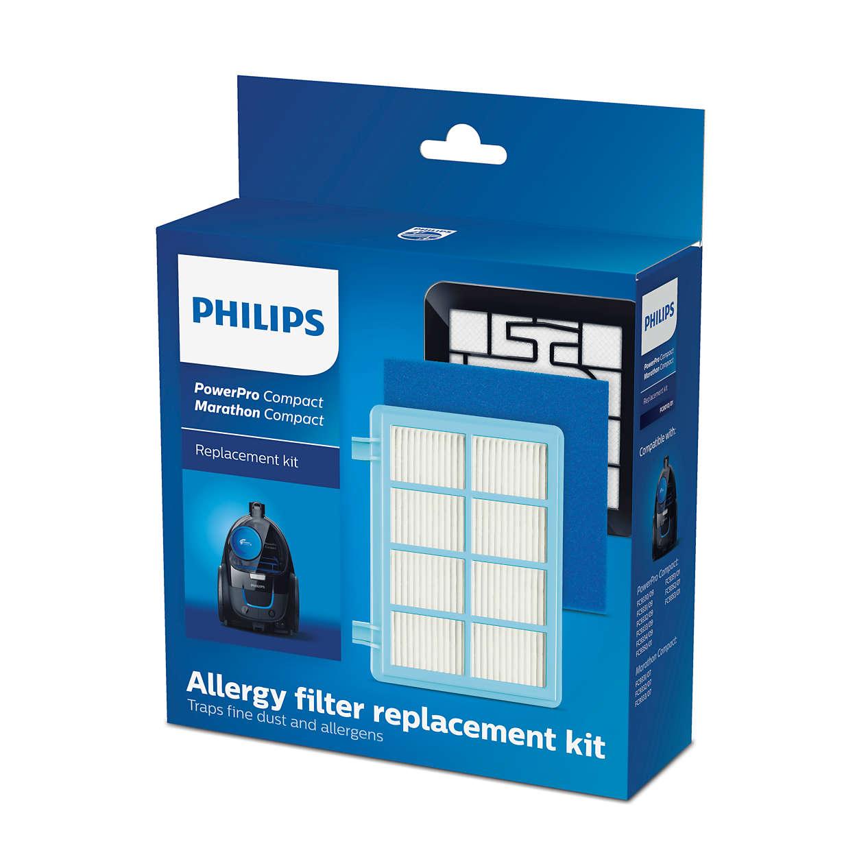 Набор сменных противоаллергенных фильтров для PowerPro Compact*