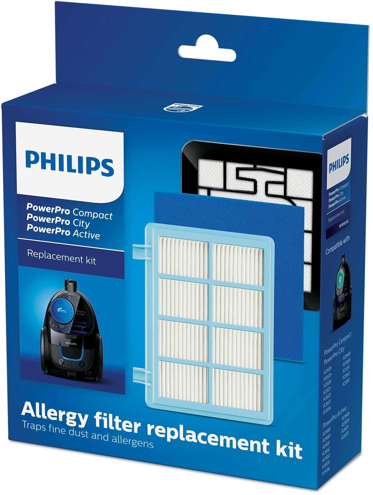 Kit filter untuk PowerPro Compact dan Active*